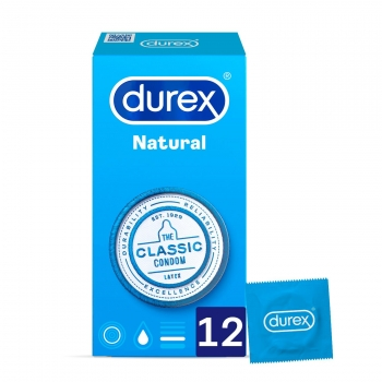 Preservativos natural Durex 12 ud.
