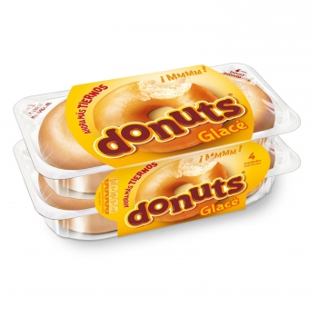 Berlina glace Donuts 4 ud.