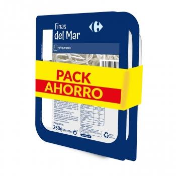 Pack ahorro finas del mar 2 x 200 g