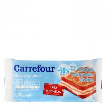 Queso en lonchas light Carrefour 300 g.