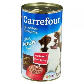 Carrefour Comida Húmeda para Perro Adulto de Buey 1250g