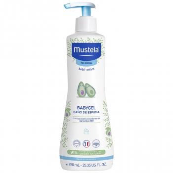 Gel de baño espumoso Mustela 750 ml.