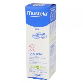 Crema facial Mustela Hydra Bebé 40 ml.