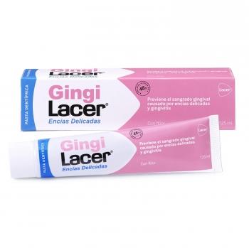 Dentífrico previene el sangrado gingival Gingilacer 125 ml.