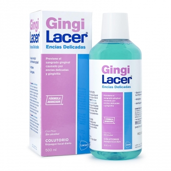 Colutorio previene sangrado gingival Gingilacer 500 ml.