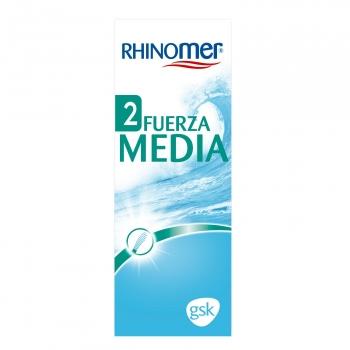 Suero fisiológico fuerza media Rhinomer 135 ml.