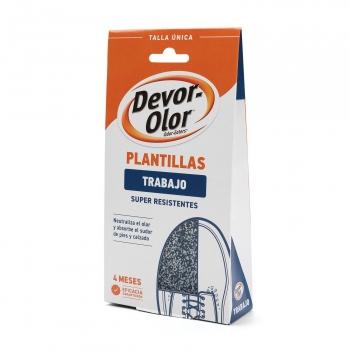 Plantilla súper resistentes Devor-Olor 2 ud.