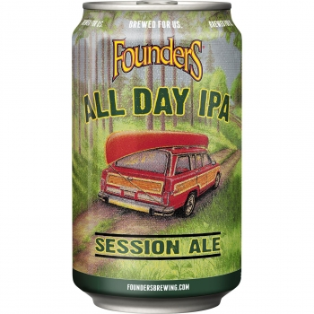 Cerveza Founders All Day tipo IPA 35,5 cl.