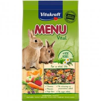 Vitakraft Menú Aroma para Conejos Enanos 3Kg