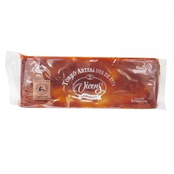 Turrón de yema tostada Vicens 500 g.