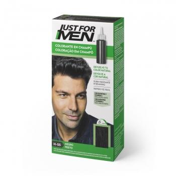 Colorante en champú negro Just for Men 30 ml.