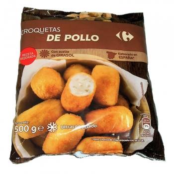 Croquetas de pollo Carrefour 500 g.