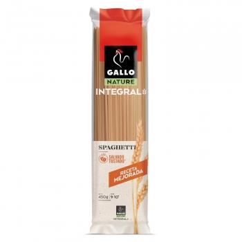 Spaguetti integral Gallo Nature 450 g.