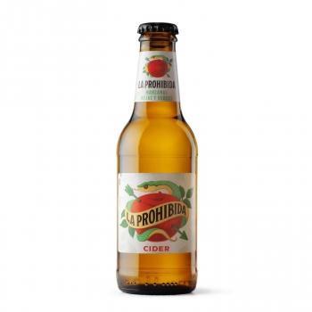 Cider La Prohibida botella 25 cl.