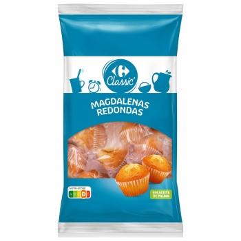 Magdalena redonda Classic' Carrefour 615 g.
