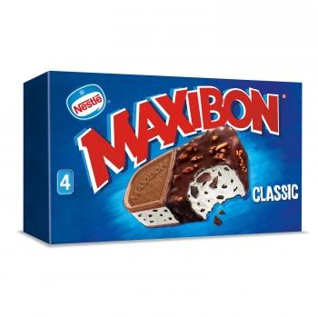 Sandwich de nata Maxibon Classic Nestlé 4 ud.