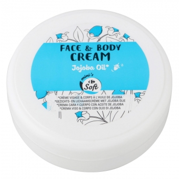 Crema para la cara y cuerpo con aceite de jojoba Carrefour Soft 50 ml