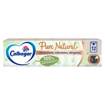 Pañuelos fibras naturales Pure Natural Colhogar 12 ud.