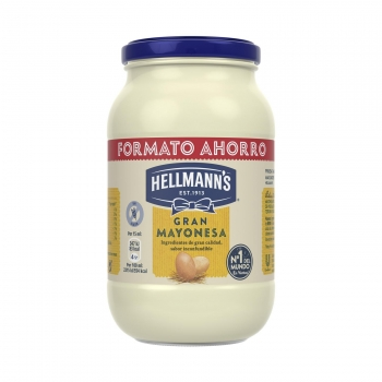 Mayonesa Hellmann's tarro 650 ml.