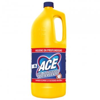 Lejía blanqueadora con detergente ACE 2 l.
