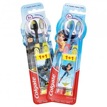 Cepillo de dientes suave infantil 6+ años Colgate 2 ud.