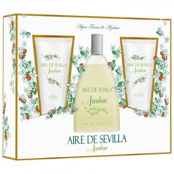 Estuche Aire de Sevilla Azahar: colonia 150 ml, crema corporal 150 ml y gel de ducha 150 ml
