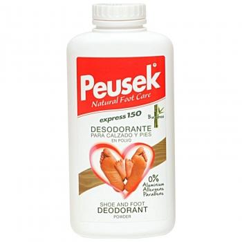 Desodorante para calzado y pies en polvo Express Peusek 150 g.