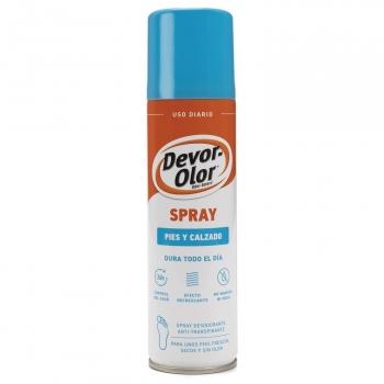 Spray pies y calzado efecto refrescante Devor-Olor 150 ml.