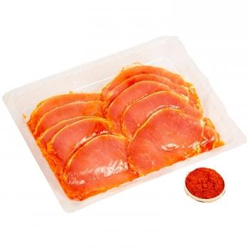 Filete de lomo de cerdo adobado extra 400 g aprox