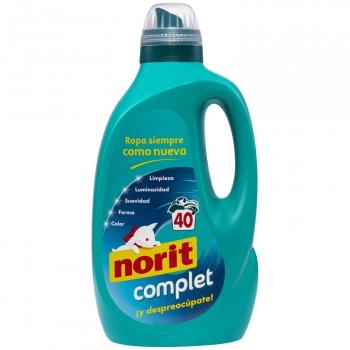 Detergente líquido Complet Norit 40 lavados.