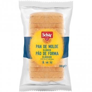 Pan del molde Schär sin gluten y sin lactosa 300 g.