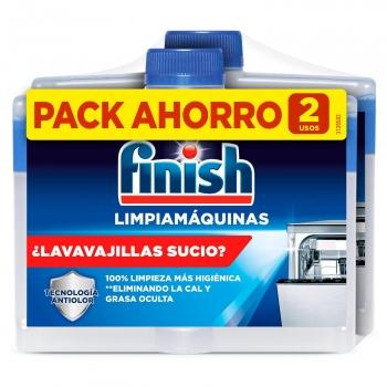 Limpiamáquinas Finish pack de 2 unidades de 250 ml.