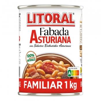 Fabada Asturiana Litoral sin gluten y sin lactosa 1 kg.
