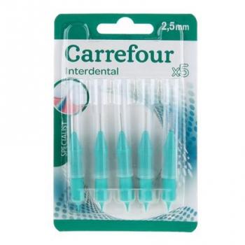 Cepillo interdental ultra fino Carrefour 5 ud.