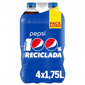Pepsi pack de 4 botellas de 1,75 l.