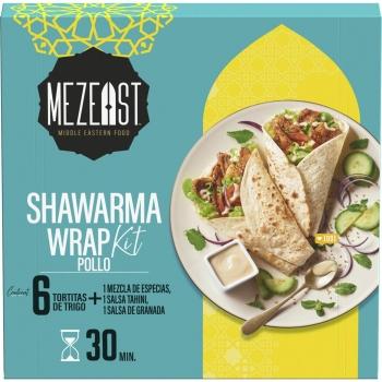 Wrap Shawarma kit Mezeast 370 g.