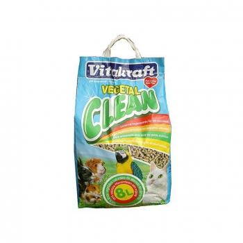 Vitakraft Vegetal Clean Corn Lecho Higiénico 8l