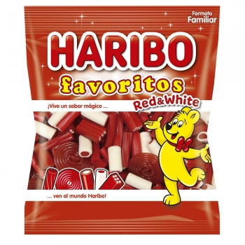 Caramelos de goma Red&White Favoritos Haribo 275 g.