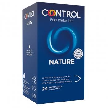 Preservativos nature Control 24 ud.