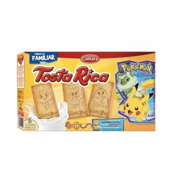 Galletas con cereales, vitaminas y calcio Tosta Rica Cuétara 800 g.