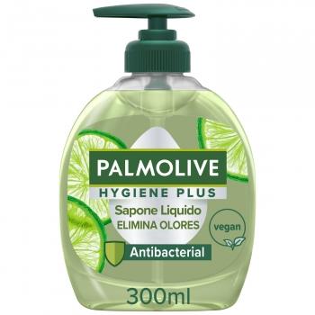 Jabón de manos antibacteriano para cocina con lima Hygiene Plus Kitchen Palmolive 300 ml.