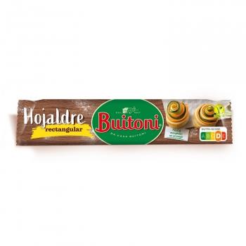 Masa hojaldre rectangular Buitoni sin lactosa 230 g.