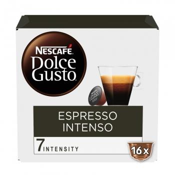 Café espresso intenso en cápsulas Nescafé Dolce Gusto 16 ud.