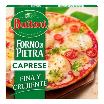 Pizza Caprese fina y crujiente Forno Di Pietra Buitoni 350 g.