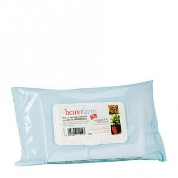 Toallitas para la higiene en caso de hemorroides Hemofarm 60 ud.