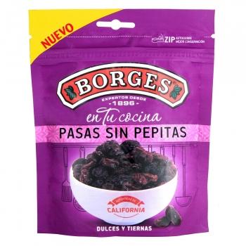 Pasas sin pepitas Borges doy pack 150 g.