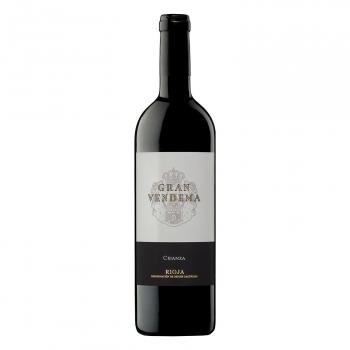 Vino D.O. Rioja tinto crianza Gran Vendema 75 cl.