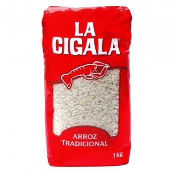 Arroz La Cigala 1 kg.