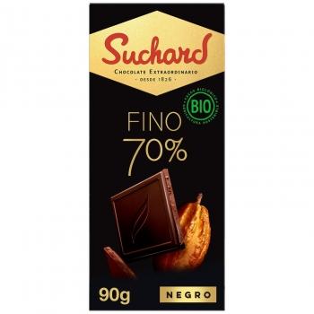 Chocolate negro 70% ecológico Suchard 90 g.