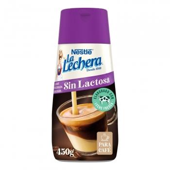 Leche condensada desnatada Nestlé La Lechera sin lactosa 450 g.